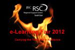 RSC SE e-Fair logo