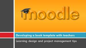 Moodle book image
