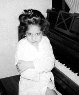 Lady Gaga as a child